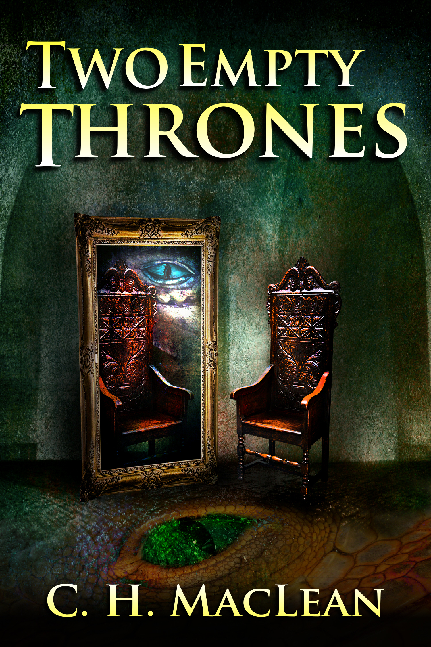 Two Empty Thrones Cover